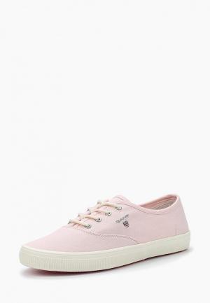 Кеды Gant. Цвет: розовый