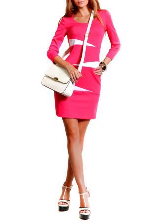 Платье FRANCESCA LUCINI. Цвет: розовый