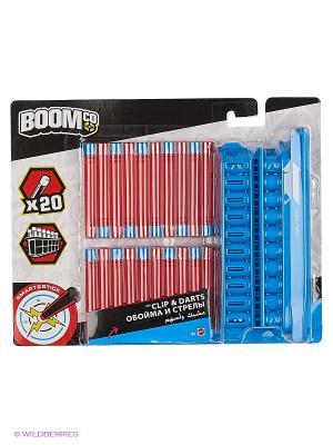 Дополнительные магазины с дартами разных цветов в ассортименте BOOMco. Цвет: синий, красный