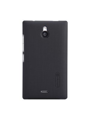 Nokia X2 Super Frosted Shield Nillkin. Цвет: черный