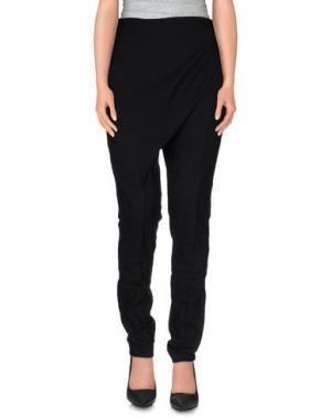 Повседневные брюки PAOLA FRANI. Цвет: черный