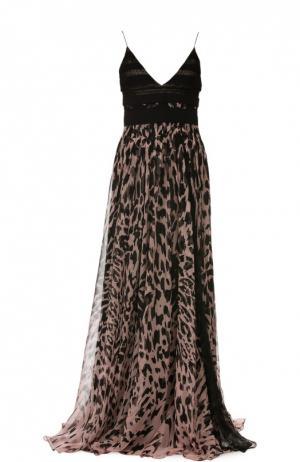Вечернее платье J.Mendel. Цвет: разноцветный