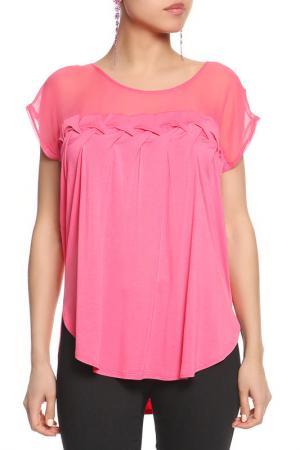 Блуза SEVENTY. Цвет: розовый