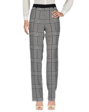 Повседневные брюки SPORTMAX CODE. Цвет: черный