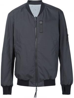 Двухсторонняя куртка-бомбер 11 By Boris Bidjan Saberi. Цвет: чёрный