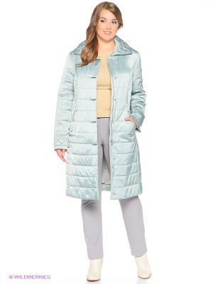 Утепленное пальто MONTSERRAT. Цвет: оливковый