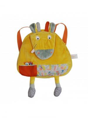 Ebulobo Рюкзачок Жирафик Билли. Цвет: оранжевый, желтый