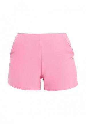 Шорты Coquelicot. Цвет: розовый