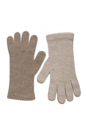 Кашемировые перчатки 181137 Andre Maurice. Цвет: бежевый