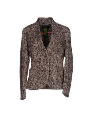 Пиджак IANUX. Цвет: баклажанный