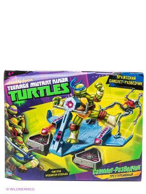 Самолет-разведчик Черепашки Ниндзя без фигурки Playmates toys. Цвет: фиолетовый, зеленый