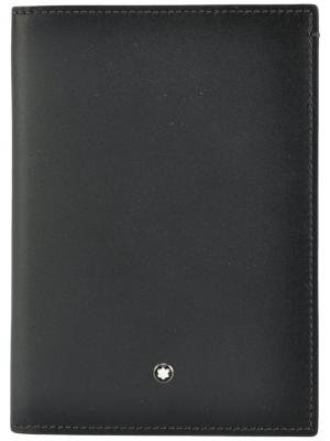 Чехол для паспорта Meisterstuck Montblanc. Цвет: чёрный