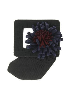 Брошь Infiniti. Цвет: черный, коричневый, синий