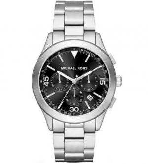 Часы со стальными корпусом и браслетом Michael Kors