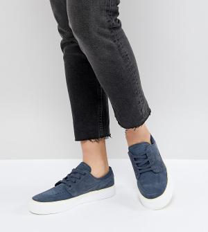 Nike SB Синие кроссовки Zoom Janoski Ht. Цвет: синий