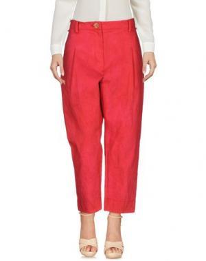 Повседневные брюки SUZUSAN. Цвет: пурпурный