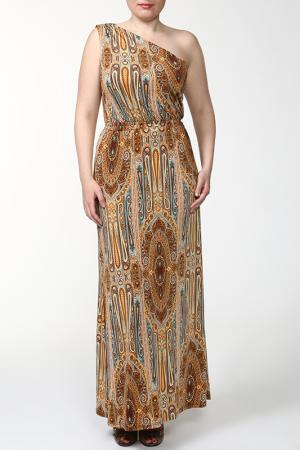 Платье MARCA-M. Цвет: мультицвет
