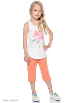 Капри S.OLIVER. Цвет: оранжевый