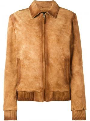 Куртка Max Filles A Papa. Цвет: коричневый