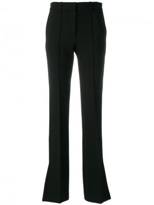Расклешенные брюки Victoria Beckham. Цвет: чёрный