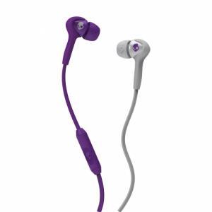 SKULLCANDY SMOKIN BUDS w/Mic A/S Athletic Purple/Grey O/S. Цвет: athletic purple/grey