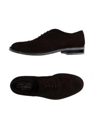 Обувь на шнурках CORVARI. Цвет: темно-коричневый