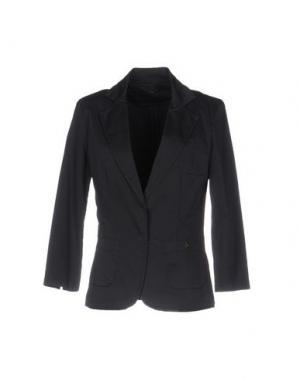 Пиджак TRY ME. Цвет: темно-синий