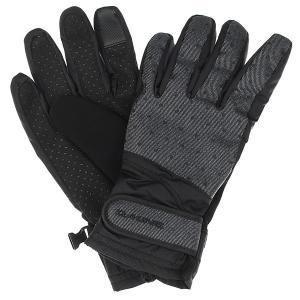 Перчатки женские  Electra Glove Pixie Dakine. Цвет: черный,серый