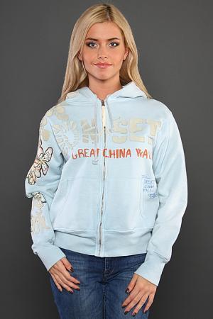 Кардиган The Great China Wall. Цвет: голубой