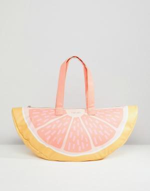 BAN DO Сумка-холодильник в форме грейпфрута Ban.Do. Цвет: мульти