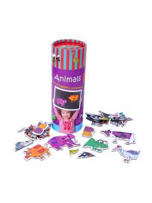 Настольная игра Животные THE PURPLE COW. Цвет: черный, белый, голубой, зеленый, красный