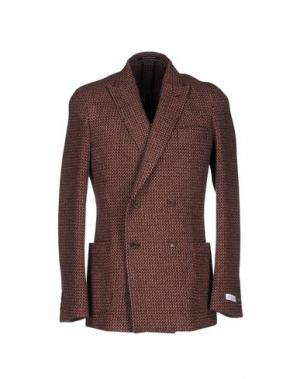 Пиджак RICHARD JAMES. Цвет: коричневый