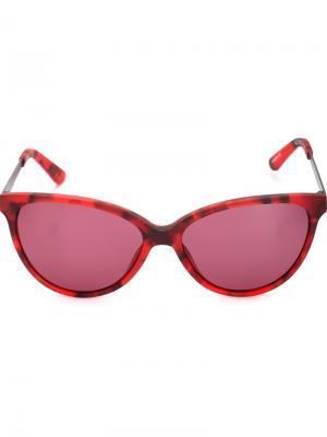 Солнцезащитные очки Krewe Du Optic. Цвет: красный