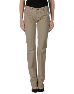 Повседневные брюки CARLO CHIONNA. Цвет: зеленый-милитари
