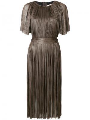 Платье Chandy Maria Lucia Hohan. Цвет: серый