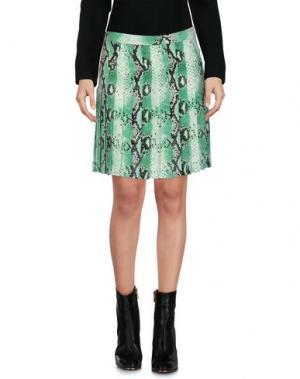 Мини-юбка BEAYUKMUI. Цвет: светло-зеленый