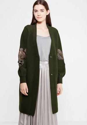 Пальто Fresh Cotton. Цвет: зеленый