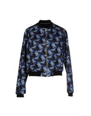 Куртка ANDREA CREWS. Цвет: синий
