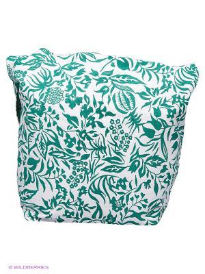 Сумка ручной работы Indira. Цвет: зеленый, прозрачный