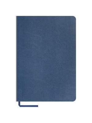 Записная книжка Vintage Blank Office space. Цвет: синий