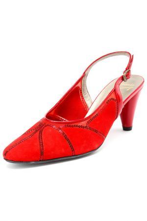 Туфли Asensio. Цвет: красный