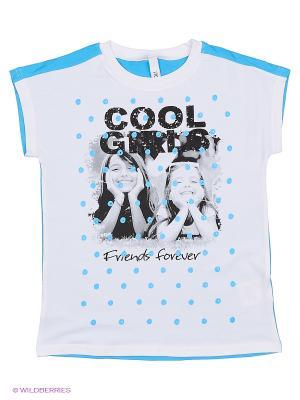 Футболка S`Cool. Цвет: белый