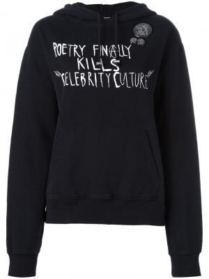 Толстовка Punk poetry Each X Other. Цвет: чёрный