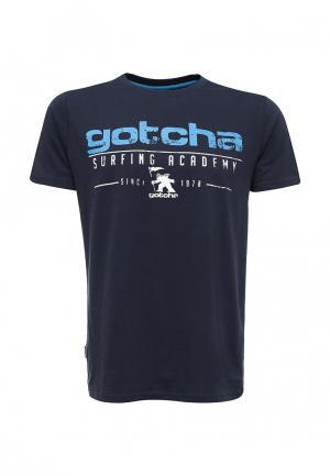 Футболка Gotcha. Цвет: синий