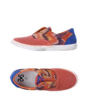 Низкие кеды и кроссовки 2STAR. Цвет: коралловый