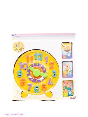 Обучающая игрушка Часики Simba. Цвет: желтый, фиолетовый, оранжевый