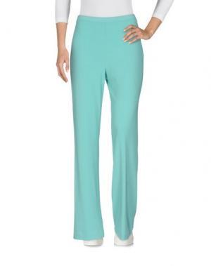 Повседневные брюки MARTA PALMIERI. Цвет: светло-зеленый