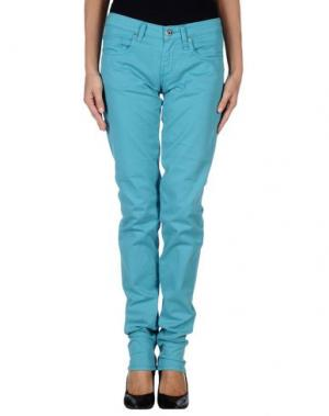 Повседневные брюки FIORUCCI. Цвет: бирюзовый