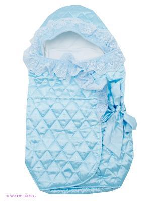 Конверт Baby Nice. Цвет: голубой, белый