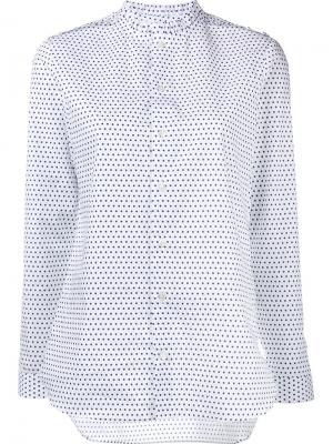 Рубашка Diana Marie Marot. Цвет: белый